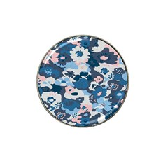 Fabric Wildflower Bluebird Hat Clip Ball Marker (10 Pack) by Simbadda