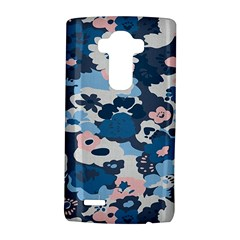 Fabric Wildflower Bluebird Lg G4 Hardshell Case