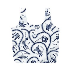 Fish Pattern Full Print Recycle Bags (m)  by Simbadda