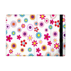 Colorful Floral Flowers Pattern Ipad Mini 2 Flip Cases by Simbadda