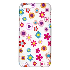 Colorful Floral Flowers Pattern Iphone 6 Plus/6s Plus Tpu Case