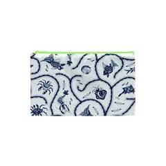 Fish Pattern Cosmetic Bag (xs)