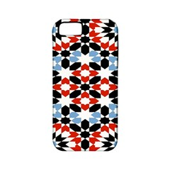 Morrocan Fez Pattern Arabic Geometrical Apple Iphone 5 Classic Hardshell Case (pc+silicone)
