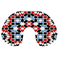 Morrocan Fez Pattern Arabic Geometrical Travel Neck Pillows