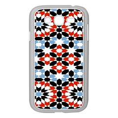 Morrocan Fez Pattern Arabic Geometrical Samsung Galaxy Grand Duos I9082 Case (white)