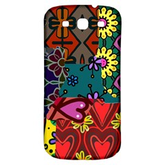 Patchwork Collage Samsung Galaxy S3 S Iii Classic Hardshell Back Case