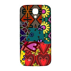 Patchwork Collage Samsung Galaxy S4 I9500/i9505  Hardshell Back Case