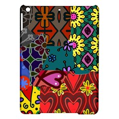 Patchwork Collage Ipad Air Hardshell Cases by Simbadda
