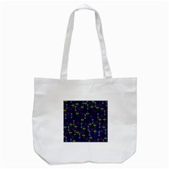 Vintage Unique Pattern Tote Bag (white)