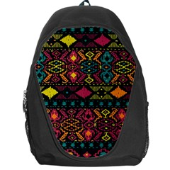 Traditional Art Ethnic Pattern Backpack Bag by Simbadda