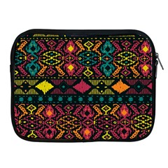 Traditional Art Ethnic Pattern Apple Ipad 2/3/4 Zipper Cases by Simbadda