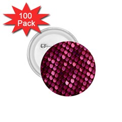 Red Circular Pattern Background 1 75  Buttons (100 Pack)  by Simbadda
