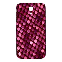 Red Circular Pattern Background Samsung Galaxy Mega I9200 Hardshell Back Case