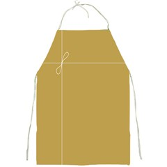 Brown Paper Packages Full Print Aprons by Alisyart
