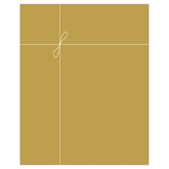 Brown Paper Packages Drawstring Bag (small) by Alisyart