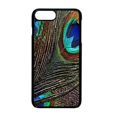 Peacock Feathers Apple Iphone 7 Plus Seamless Case (black)