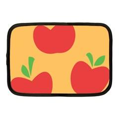 Apple Fruit Red Orange Netbook Case (medium)  by Alisyart