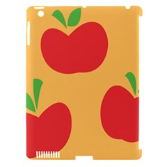 Apple Fruit Red Orange Apple Ipad 3/4 Hardshell Case (compatible With Smart Cover) by Alisyart