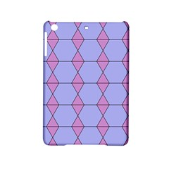 Demiregular Purple Line Triangle Ipad Mini 2 Hardshell Cases by Alisyart