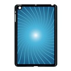 Dreams Sun Blue Wave Apple Ipad Mini Case (black) by Alisyart
