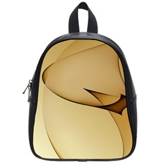 Edge Gold Wave School Bags (small)  by Alisyart