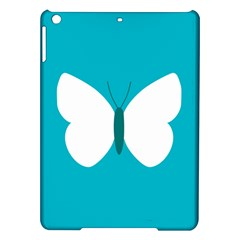 Little Butterfly Illustrations Animals Blue White Fly Ipad Air Hardshell Cases by Alisyart