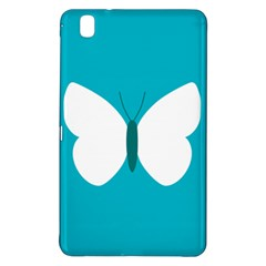 Little Butterfly Illustrations Animals Blue White Fly Samsung Galaxy Tab Pro 8 4 Hardshell Case by Alisyart