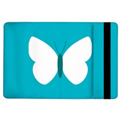 Little Butterfly Illustrations Animals Blue White Fly Ipad Air Flip by Alisyart