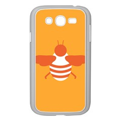 Littlebutterfly Illustrations Bee Wasp Animals Orange Honny Samsung Galaxy Grand Duos I9082 Case (white)