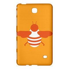 Littlebutterfly Illustrations Bee Wasp Animals Orange Honny Samsung Galaxy Tab 4 (8 ) Hardshell Case