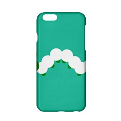 Little Butterfly Illustrations Caterpillar Green White Animals Apple Iphone 6/6s Hardshell Case by Alisyart
