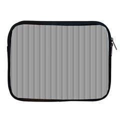 Metal Dark Grey Apple Ipad 2/3/4 Zipper Cases by Alisyart