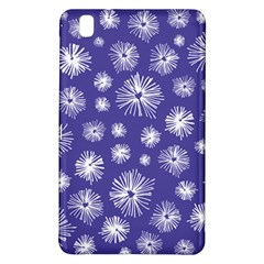 Aztec Lilac Love Lies Flower Blue Samsung Galaxy Tab Pro 8 4 Hardshell Case by Alisyart
