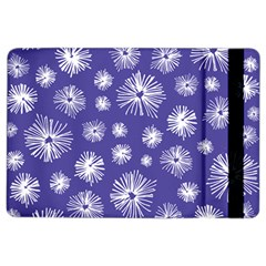 Aztec Lilac Love Lies Flower Blue Ipad Air 2 Flip by Alisyart