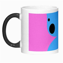 Pink Blue Butterfly Animals Fly Morph Mugs