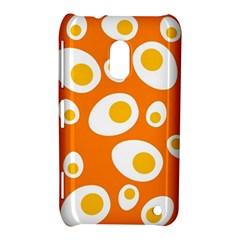 Orange Circle Egg Nokia Lumia 620 by Alisyart