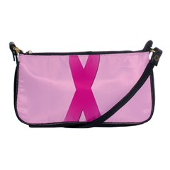 Pink Breast Cancer Symptoms Sign Shoulder Clutch Bags by Alisyart