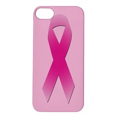 Pink Breast Cancer Symptoms Sign Apple Iphone 5s/ Se Hardshell Case by Alisyart