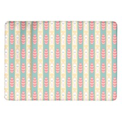 Rabbit Eggs Animals Pink Yellow White Rd Blue Samsung Galaxy Tab 10 1  P7500 Flip Case by Alisyart