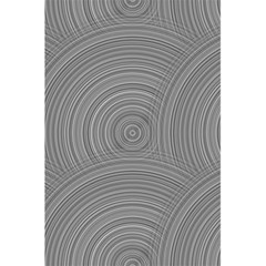 Circular Brushed Metal Bump Grey 5 5  X 8 5  Notebooks by Alisyart
