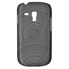 Circular Brushed Metal Bump Grey Galaxy S3 Mini by Alisyart