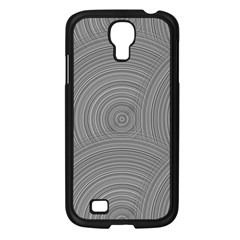 Circular Brushed Metal Bump Grey Samsung Galaxy S4 I9500/ I9505 Case (black) by Alisyart