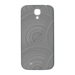 Circular Brushed Metal Bump Grey Samsung Galaxy S4 I9500/i9505  Hardshell Back Case by Alisyart