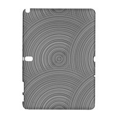 Circular Brushed Metal Bump Grey Galaxy Note 1 by Alisyart