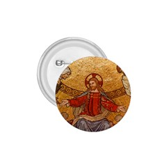Gold Jesus 1 75  Buttons by boho