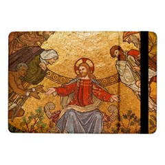 Gold Jesus Samsung Galaxy Tab Pro 10 1  Flip Case by boho