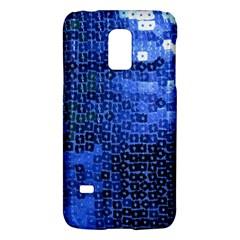 Blue Sequins Galaxy S5 Mini by boho
