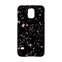 Black Stars Samsung Galaxy S5 Hardshell Case  by boho