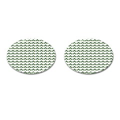 Shamrock Cufflinks (oval) by boho