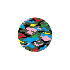 Rainbow Camouflage Golf Ball Marker (10 Pack) by boho